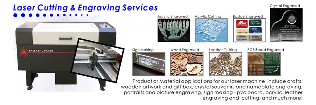 1. Laser Cutting & Engraving Services