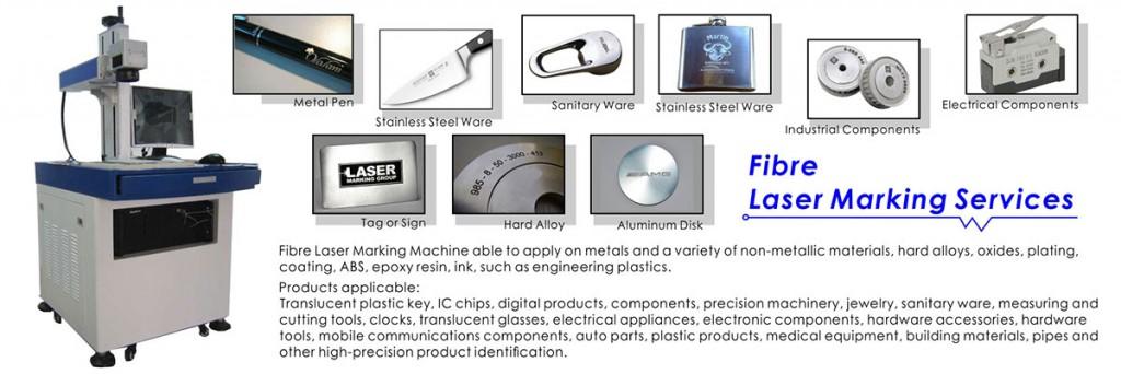 3. Fibre Laser Marking Services