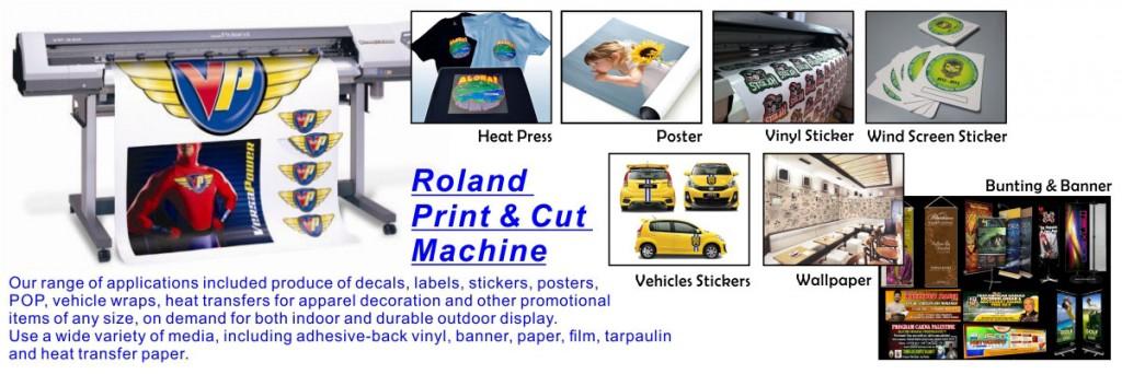 4. Roland Print & Cut Services